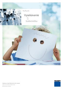 Vysekávanie - TRUMPF Slovakia, sro