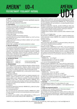 AMERIN® UD-4 - SIMATT, sro