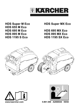 HDS Super M Eco HDS Super MX Eco HDS 655 M Eco HDS 695 M