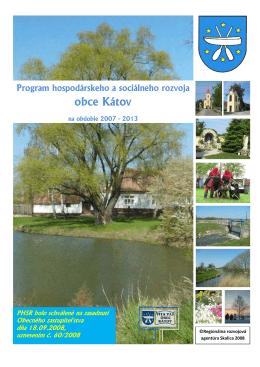 Plán hospodárskeho a sociálneho rozvoja obce Kátov