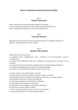 Stanovy občianskeho združenia (pdf)
