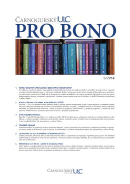 PRO BONO ULC 05 2014