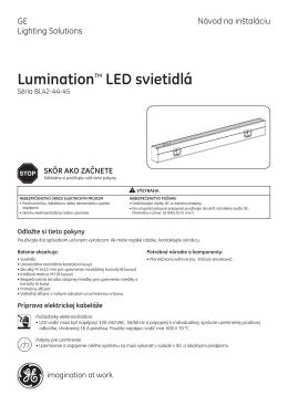 LuminationTM LED svietidlá