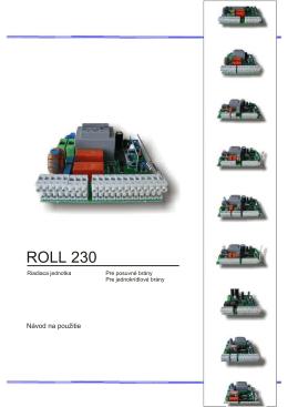 ROLL 230.rtf - pohony