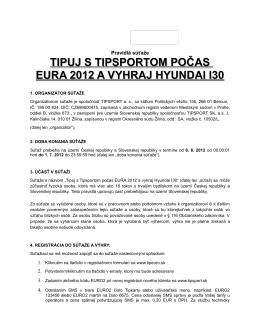 Pravidlá súťaže (pdf)