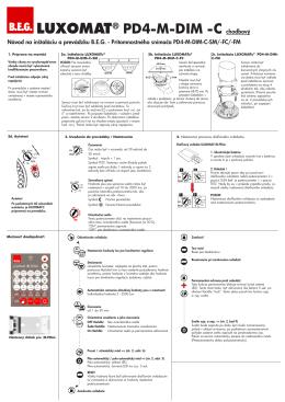 B.E.G. LUXOMAT® PD4-M-DIM