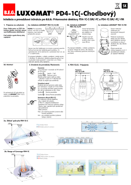 B.E.G. LUXOMAT® PD4-1C(-Chodbový)