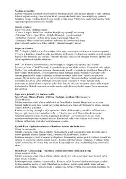 Neobyčajné rastliny – návod (*.pdf)