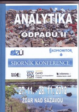 analýza zloženia zmesového komunálneho odpadu v