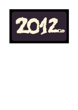 2012 - Obec Vydrany