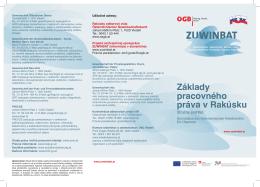 Základy pracovného práva v Rakúsku