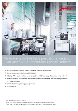 jura professional solutions_r2015