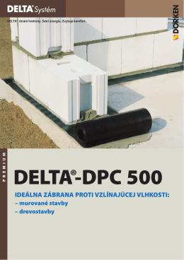DELTA®-DPC 500 - Ewald Dörken AG