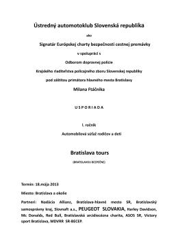 Ústredný automotoklub Slovenská republika a Odbor
