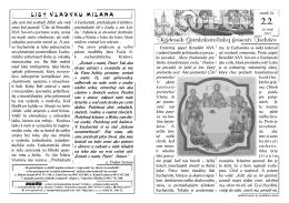 Týždenník Gréckokatolíckej farnosti Trebišov