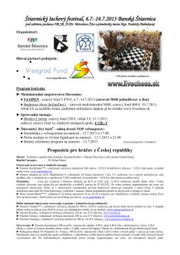 Štiavnický šachový festival