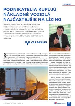PR článok - VB Leasing SK