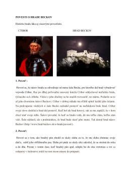 iné povesti o hrade