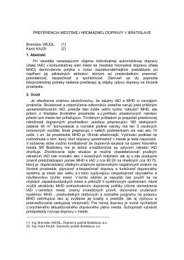1998 Bratislava Verejna osobna