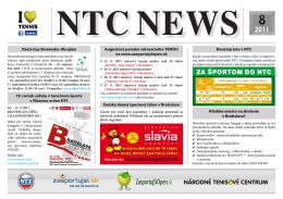 NTC NEWS - Zasportujsi.sk