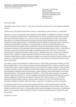 PRO SCENA - SLOVENSKA SCENOGRAFICKA SPOLOCNOS