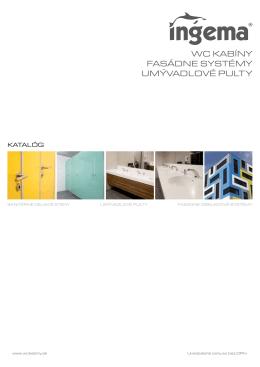 wc kabíny fasádne systémy umývadlové pulty