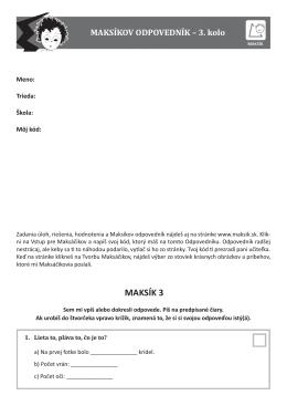 Odpovedník MAKSIK 3 3. kolo na web.indd