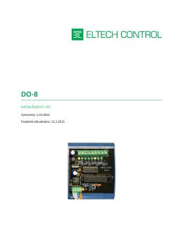DO-8 - Eltech Control sro
