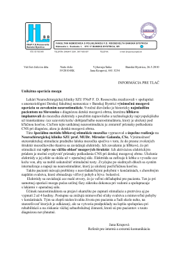 2010-02.06. TS - Unikatna operacia mozgu