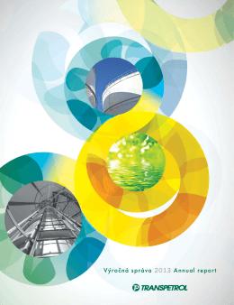 Výročná správa 2013 Annual report