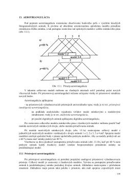 13. AEROTRIANGULÁCIA Pod pojmom aerotriangulácia rozumieme
