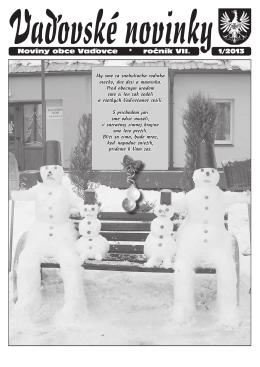 Vaďovské noviny 02/2013