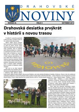 Zobraziť Drahovské noviny 4/2013