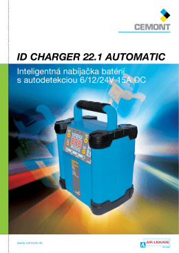 ID CHARGER 22.1 AUTOMATIC