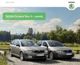 ŠKODA Octavia Tour II – cenník