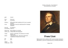 Franz Liszt (1811