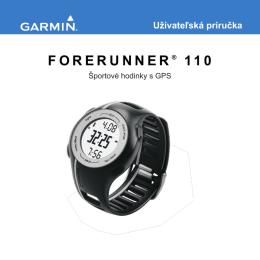 FORERUNNER ® 110