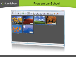 Program LanSchool