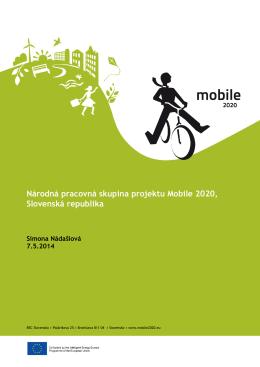 Správa - MOBILE 2020