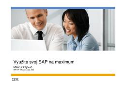 Využite svoj SAP na maximum