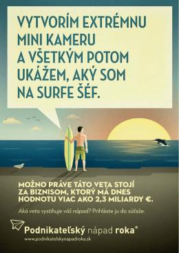 Ukážky letákov  - Podnikateľský nápad roka!