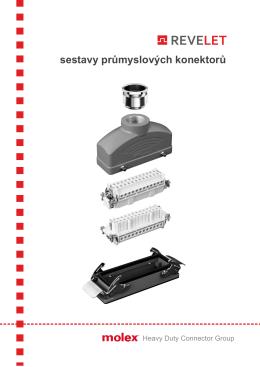 sady průmyslových konektorů 3P - 32P, šroubovací