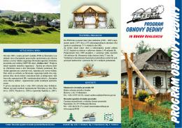 10 rokov realizácie - Program obnovy dediny