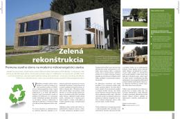 Zelená rekonštrukcia