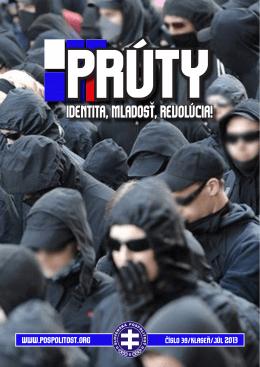 Prúty - Weblog Slovenská pospolitosť