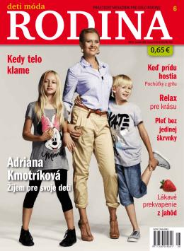 DMR 6/2013 - deti móda rodina
