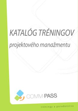 stiahnite si katalóg - Projektový manažment - Comm-pass