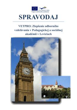 Spravodaj obálka - Copy - Pedagogická a sociálna akadémia v