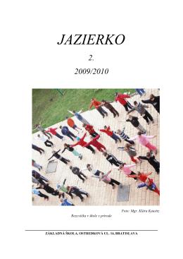JAZIERKO - Základná škola SNP, Ostredková 14, Bratislava