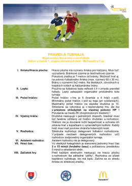 Základné pravidlá 2013/2014